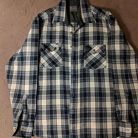 eb7d27ab jcpenney Shirts | Vintage Jc Penny Flannel Button Down | Poshmark